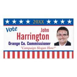political campaign business card vote zazzle