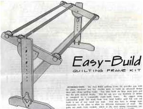 Diy Machine Quilting Frame Plans by Plans For Wooden Quilting Frame Woodwork Plans How To Diy