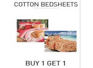 Buy One Get One Mattress by Cotton Bed Sheets Buy 1 Get 1 Free