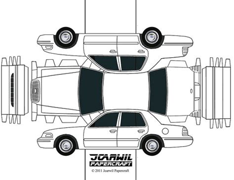 Papercraft Crown - jcarwil papercraft 2000 ford crown a photo on
