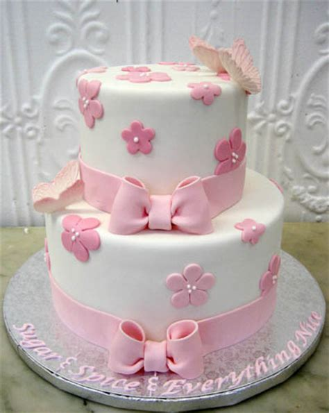 flower baby shower cakes baby shower cake simple fondant flowers cake creations