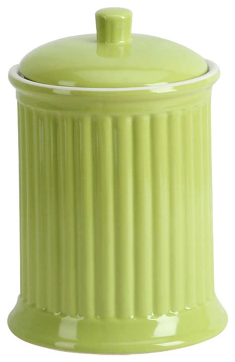 modern kitchen canisters bright storage jars regarding 10 simsbury extra large canister citron contemporary