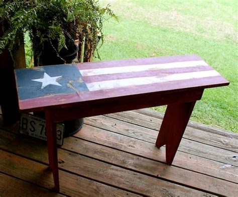 americana bench top 25 best painted benches ideas on pinterest picnic table paint picnic tables