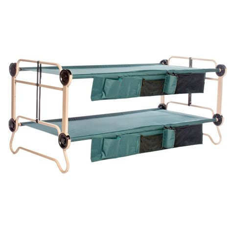 bunk bed cot x large bunk sleeping cots bed heavy duty home c hunt