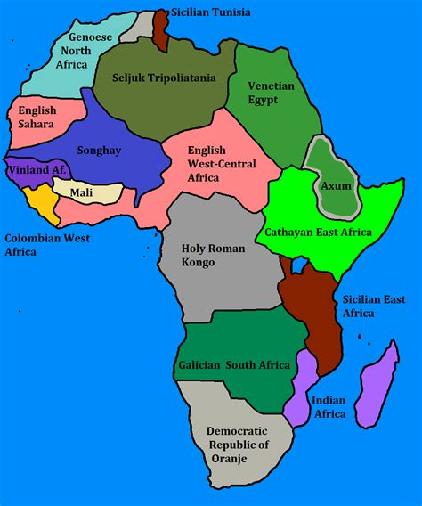 africa map just countries africa by goliath maps on deviantart