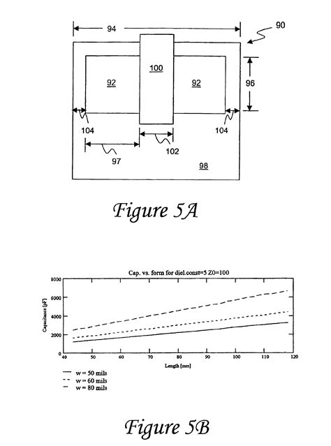 transmission line capacitor patent us6898070 transmission line capacitor