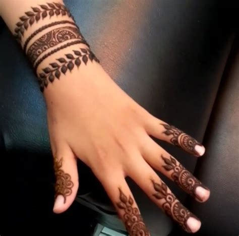 easy henna tattoo designs for fingers henna new designs and trends followed in wedding