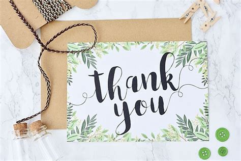 printable thank you cards for wedding 17 gorgeous free printable wedding thank you cards