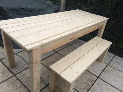 terrasse tisch diy pallet farmhouse table patio table pallet