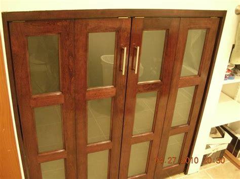 Custom Closet Doors Bifold Cherry Bifold Doors Products I Pinterest