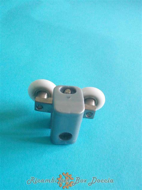 box doccia friges cuscinetto con doppia rotella per box doccia friges mod