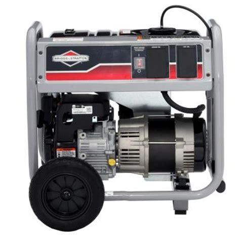 briggs stratton 3 500 watt gasoline powered portable