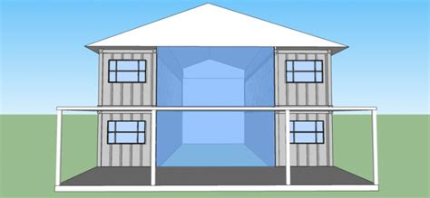 2560sqft 5BR 2BA 2 Story Shipping Container Home For $50k