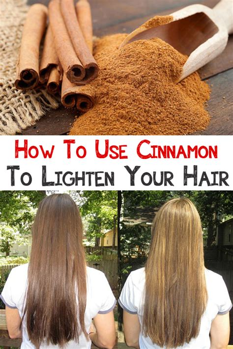 On Your Home Aurally by How To Use Cinnamon To Lighten Your Hair Is Important
