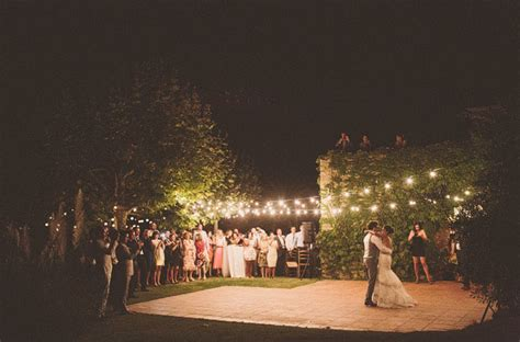 Summer Wedding In Spain Kelly Mikey Green Wedding Lighting For Outdoor Wedding