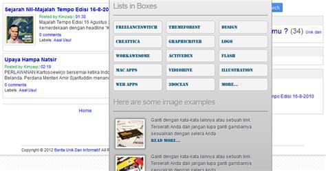 cara membuat rowspan html cara membuat mega dropdown menu cara membuat blog gratis