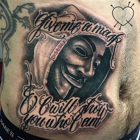 guy fawkes tattoo fawkes www pixshark images galleries