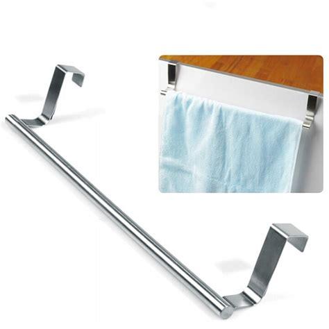 kitchen cabinet towel rail over the door kitchen towel rack voluptuo wenko over the