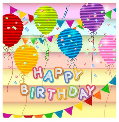birthday card layout templates happy birthday card design template vectors stock in