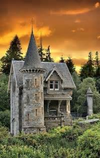 castle house castle tower home scotland for a mystical mural