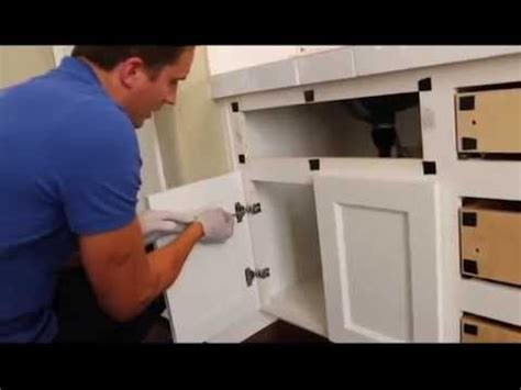 how to change kitchen cabinet doors reface and change a partial overlay cabinet with a full overlay cabinet door create a flush