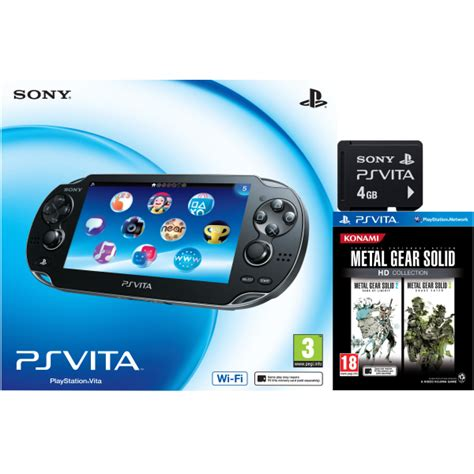 Memory Ps Vita 4gb ps vita wi fi enabled includes metal gear solid hd collection and 4gb memory card