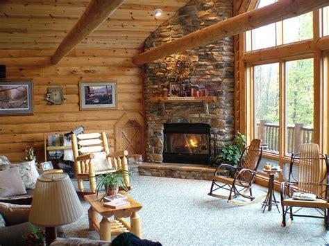 log cabins corner fireplace love log cabins american lifestyle living pinterest log