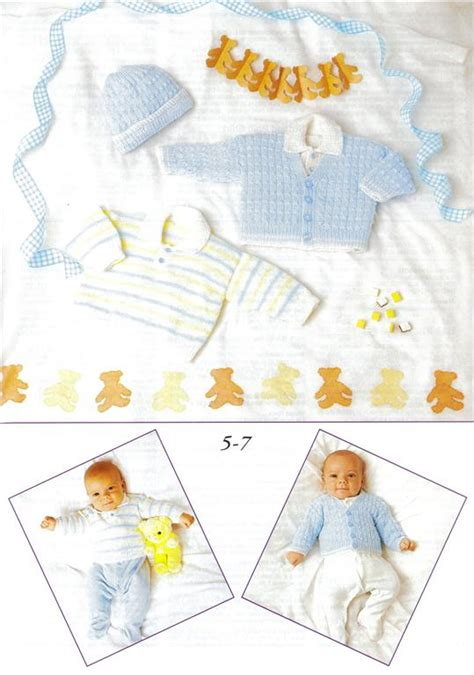 patons baby knitting books patons a new baby knit crochet pattern book 370