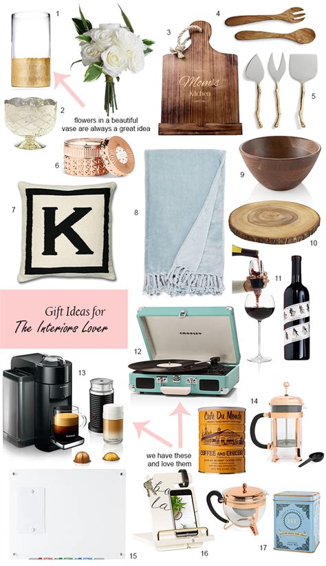 gift guide for the interiors lover
