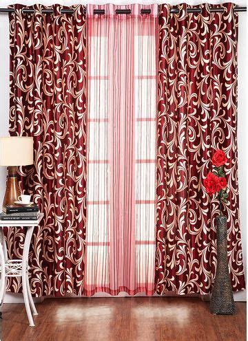 wall color   burgundy curtains
