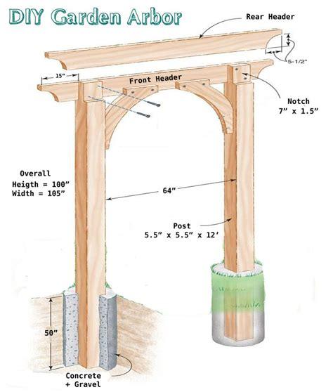 garden arch plans 25 best ideas about arbor gate on pinterest yard gates