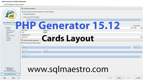 youtube layout generator php generator 15 12 new features part 3 cards layout