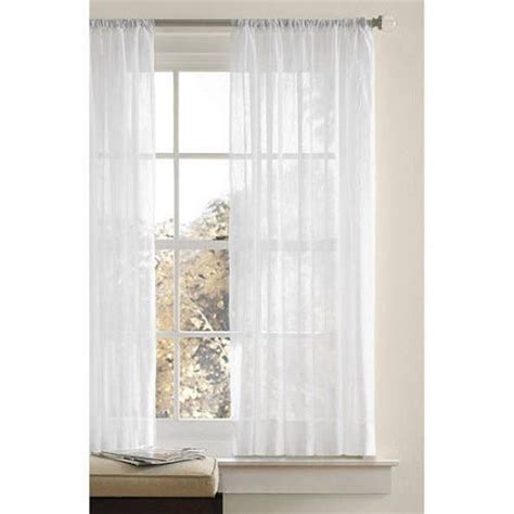 Canopy Window Curtains by Better Homes And Gardens Canopy Crushed Voile Drapery