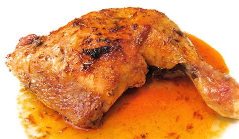 cuarto de pollo al horno muslos de pollo asado al horno con especias de adobo