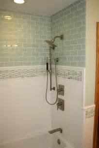 Bathroom Glass Tile Ideas 37 Green Glass Bathroom Tile Ideas And Pictures