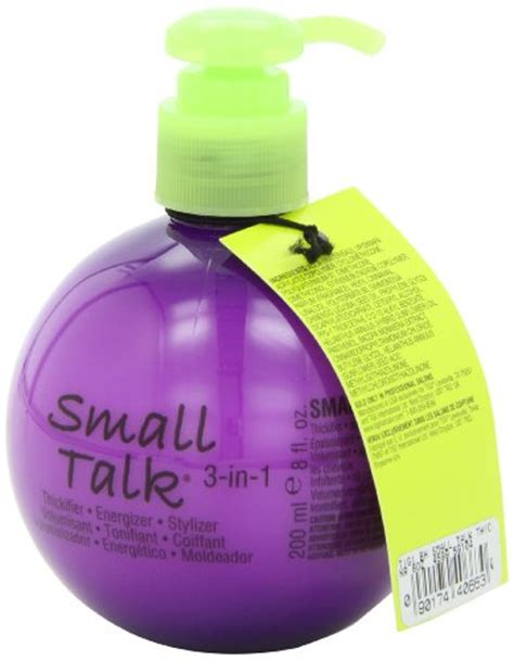 bed head small talk review tigi bed head small talk thickifier 8 ounce in the uae see prices reviews and buy
