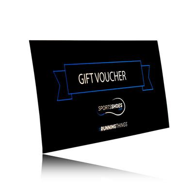 sports shoes voucher gift voucher save buy sportsshoes