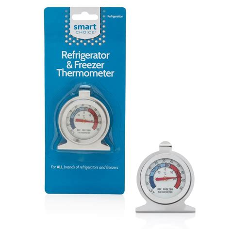 Termometer Refrigerator shop frigidaire universal refrigerator thermometer chrome at lowes