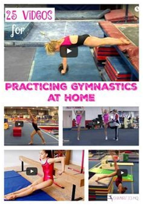 1000 ideas about gymnastics at home on
