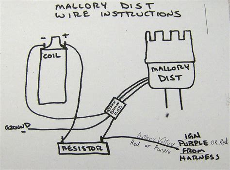 mallory ignition wiring diagram pontiac mallory free