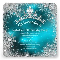 31 Best Winter wonderland invitations images   Snowflakes