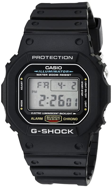 G Shock Digital Black Huruf casio s g shock classic digital black ebay