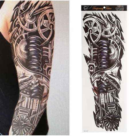 harga tattoo temporary bandung 48 17cm tattoo stickers waterproof men s tattoos