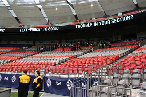 Timbers Army Section by Portland Timbers At Vancouver Whitecaps Photos