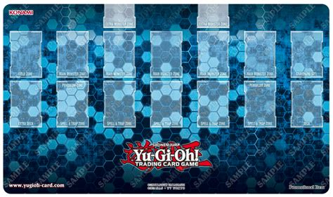 yugioh mat card zone template yu gi oh tcg quot zone quot generic mat to be
