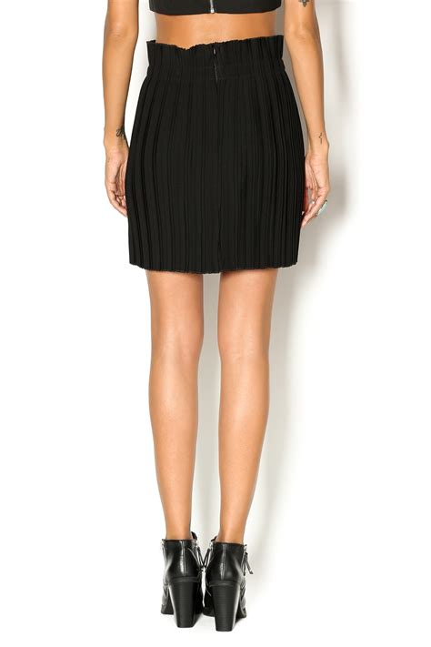 babel fair pleated mini skirt from williamsburg by babel