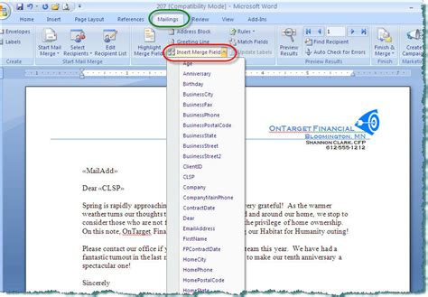 Creating Document Templates Microsoft Word Doc Templates
