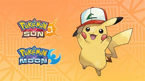 Sun And Moon Pokemon Giveaway - pokemon sun and moon players can download the first of several special pikachu
