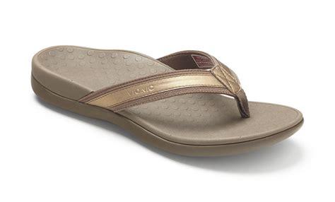 orthotic shoes vionic tide ii s leather orthaheel sandals