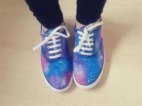 diy shoes diy galaxy print shoes calvirose